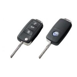 Выкидной ключ для  Volkswagen Touareg 2002-2010 г.в.
